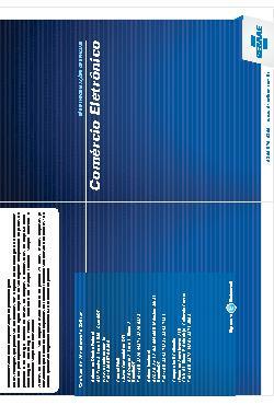 Sebrae - folder comercio eletronico 2011