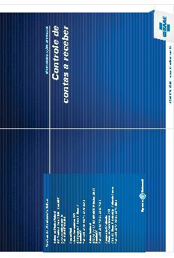 Sebrae - Controle de contas a receber 2011