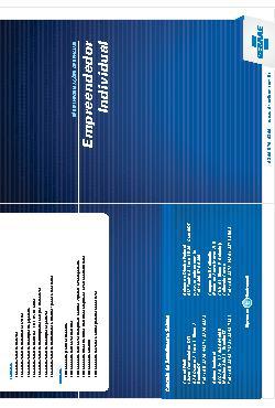 Sebrae - Empreendedor individual 2011