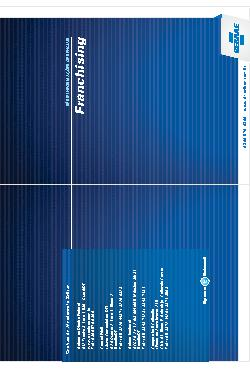 Sebrae - Franchising 2011