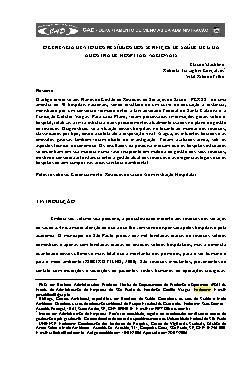 O gerenciamento dos resíduos dos serviços de saúde de uma  ...