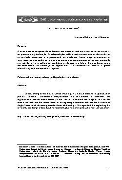 O acaso e a fortuna (Revista Ciências da Administração. V. ...