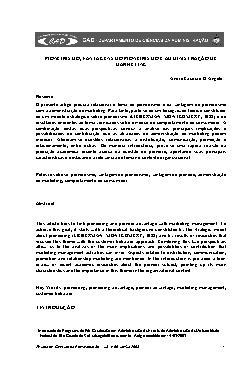 Pioneirismo, vantagens do pioneirismo e administração de m ...
