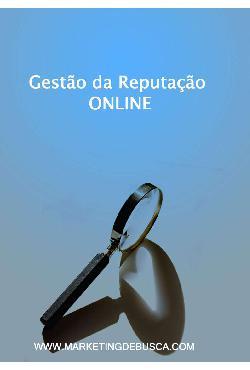 Gestão de Reputação Online