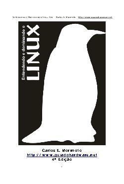 Entendendo e Dominando o Linux - 4a. edição