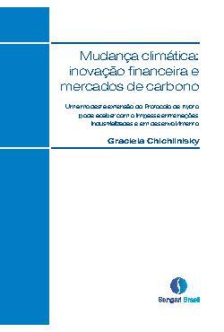Mudança climática: inovação financeira e mercados de carbo ...