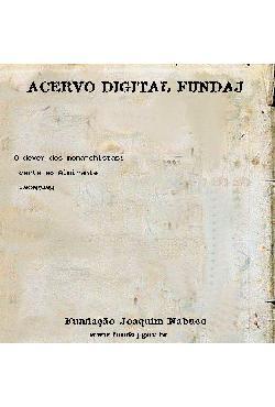 O dever dos monarchistas: carta ao Almirante Jaceguay