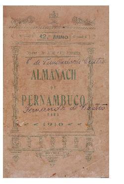 Almanach de Pernambuco (Recife, ano 12, 1910)