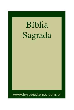<font size=+0.1 >Bíblia Sagrada</font>