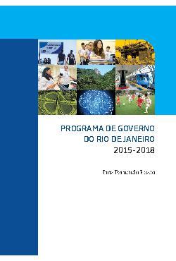 Plano de Governo Rio de Janeiro 2014 - Pezão