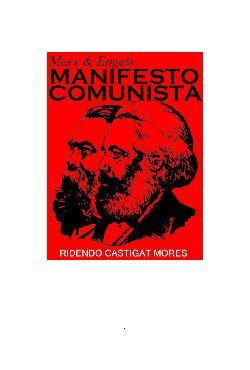 <font size=+0.1 >O Manifesto Comunista</font>
