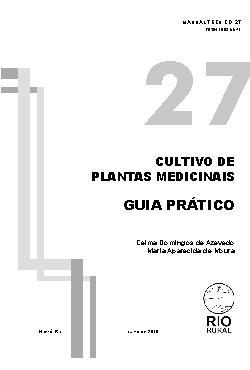 Cultivo em Casa de Plantas Medicinais