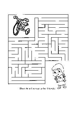 Labirintos Livro de Colorir