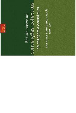 Estudos sobre as convenções coletivas da categoria canavie ...