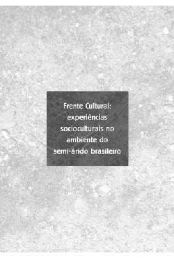 Frente cultural: experiências socioculturais no ambiente d ...