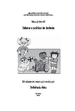 Dificuldade de Comunicação e Sinalização - deficiência fís ...