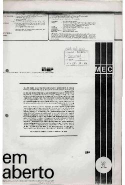 Em Aberto, Brasília, ano 1, n.5, abr. 1982