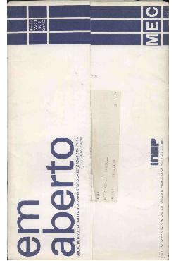 Em Aberto, Brasília, ano 1, n.9, set. 1982