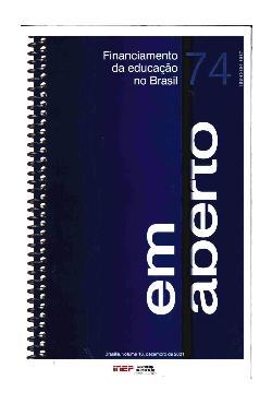 Em Aberto - Financiamento da educação no Brasil. Brasília. ...