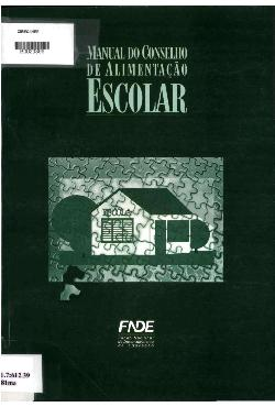 Manual do Conselho de Alimentação Escolar - CAE