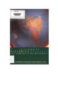 O ensino de história e geografia no contexto do MERCOSUL
