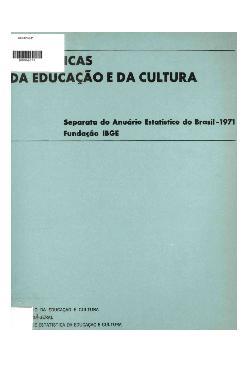 Serviço de estatística da educação e cultura