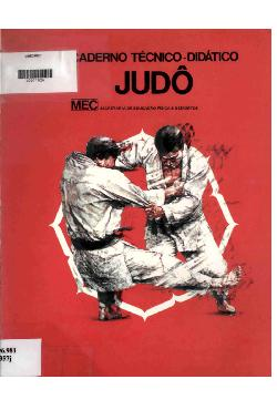 Caderno técnico-didático - judô