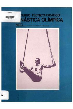 Caderno técnico-didático - ginástica olímpica