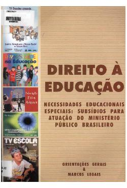 Direito à educação: necessidades educacionais especiais - ...