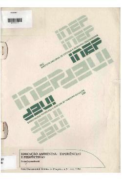 Educação ambiental: experiências e perspectivas - 1993