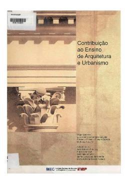 Contribuição ao ensino de arquitetura e urbanismo