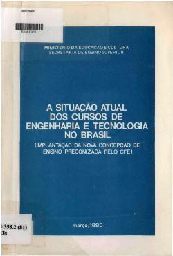 A situação atual dos discursos de engenharia e tecnologia  ...