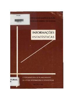 Coordenação de planejamento: setor de informação e estatísti[..]