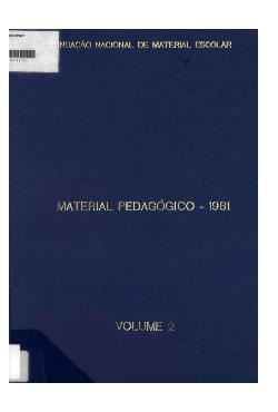 Material pedagógico: manual de utilização, volume 2 - 1981
