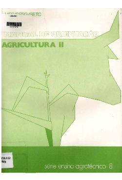 Agricultura II: manual de orientação