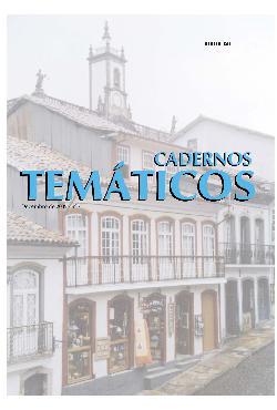 Cadernos Temáticos nº 7: turismo e lazer