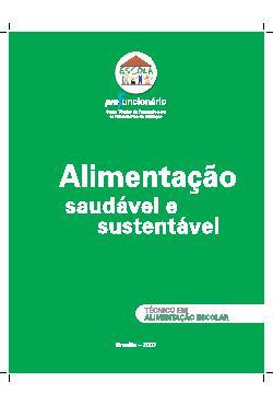 Alimentação saudável e sustentável - Profuncionário