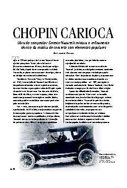 Chopin carioca: obra do compositor Ernes