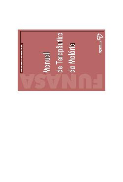 Manual de terapêutica da malária