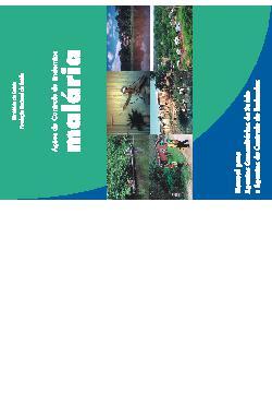 Ações de controle de endemias malária - manual para agente ...