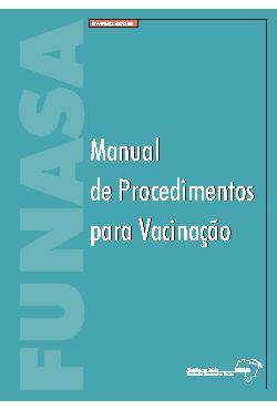 Manual de procedimentos para vacinação