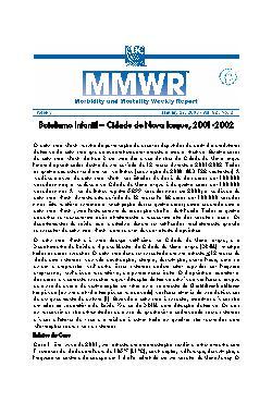 Botulismo infantil - Cidade de Nova Iorque, 2001-2002