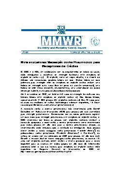 Vacinação contra pneumococo para receptores de cóclea