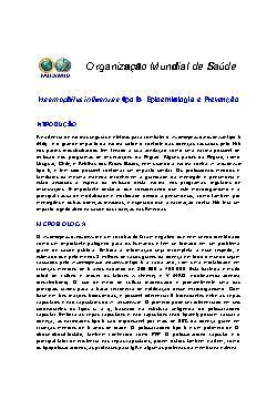 Haemophilus influenzae tipo b: epidemiologia e prevenção