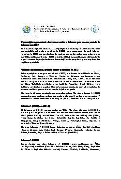 Composição recomendada das vacinas contra a influenza para ...