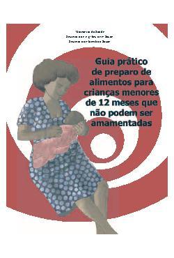 Guia prático de preparo de alimentos para crianças menores ...