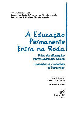 A educação permanente entre na roda