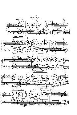 Momentos musicais: Opus 16, nº 2 - Allegretto em Mi bemol  ...
