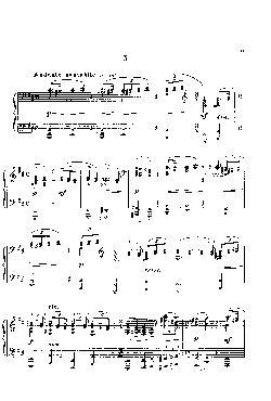 Momentos musicais: Opus 16, nº 3 - Andante cantabile em Si ...