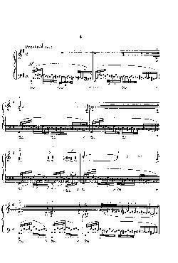 Momentos musicais: Opus 16, nº 4 - Presto em Mi menor - pa ...